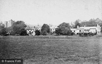 Taunton, Barracks, Officers' Quarters 1888