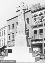 Taunton, Burma War Memorial c.1960