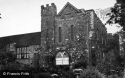 Taunton, Castle 1950