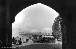 Castle Square c.1940, Taunton