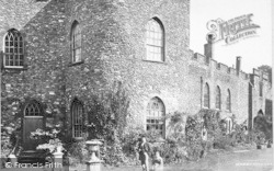 Taunton, Castle, The Round Tower c.1869