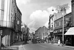 Cheapside c.1950, Taunton