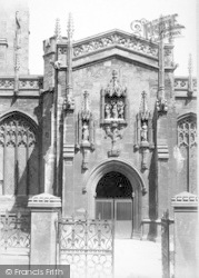 Taunton, Church Of St Mary Magdalene, The Porch 1894