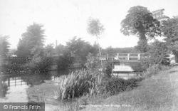 Taunton, Footbridge 1902