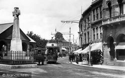 Fore Street And Burmah Cross 1902, Taunton
