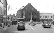 Taunton, Fore Street c1955