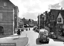 Fore Street South c.1950, Taunton