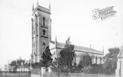 Taunton, Holy Trinity Church c.1869