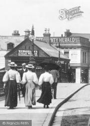 Taunton, Ladies Promenading 1897