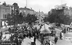 Taunton, Market And Parade 1894