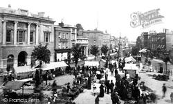 Market Place 1886, Taunton