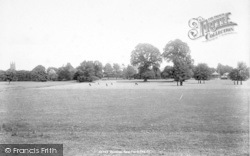 Taunton, New Park 1897