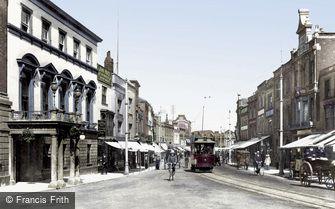 Taunton, North Street 1906