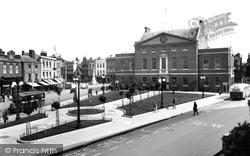 Parade And Market House 1935, Taunton