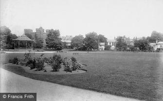 Taunton, Park and Barracks 1897