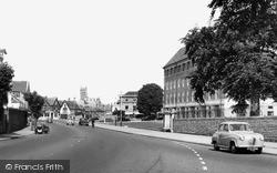 Park Street And County Hall c.1960, Taunton