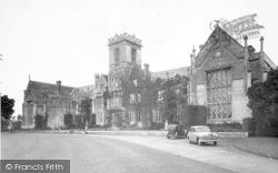 Taunton, Queen's College c.1955