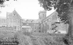 Taunton, Queen's College From The Playing Fields c.1955