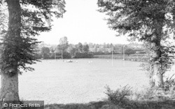 Taunton, Queen's College Playing Fields c.1955