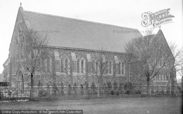 Photo of Taunton, School Chapel 1906