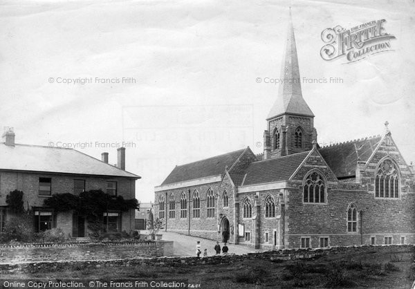 Photo of Taunton, St Andrew's Church 1894