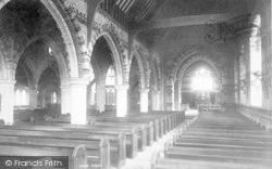 Taunton, St Andrew's Church Interior 1894