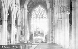 Taunton, St George's Rc Church Interior 1894