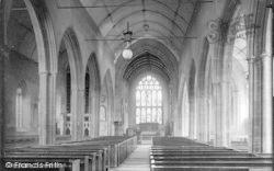 Taunton, St James' Church Interior 1888