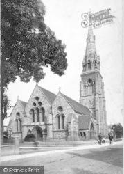 Taunton, St John's Church 1888