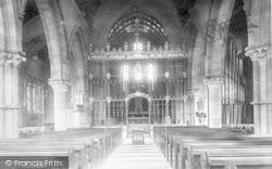 Taunton, St John's Church Interior 1894