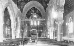 Taunton, St John's Church Interior 1902