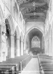 Taunton, St Mary Magdalene Church Interior 1902