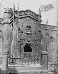 Taunton, St Mary Magdalene's Church, South Door c.1869