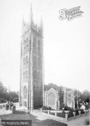 Taunton, St Mary's Church 1888