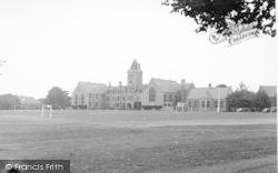 Taunton, Taunton School c.1955