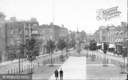 Taunton, The Parade 1888