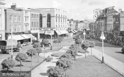 Taunton, The Parade And North Street c.1939