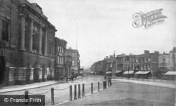 The Parade c.1869, Taunton