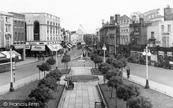 The Parade c.1950, Taunton