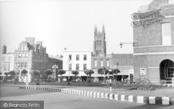 Taunton, The Parade c.1955