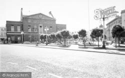 Taunton, The Parade c.1960