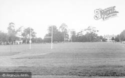 Taunton, The School Playing Fields c.1955