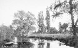 Taunton, View On The Tone 1888
