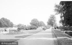 Taunton, Vivary Park c.1960