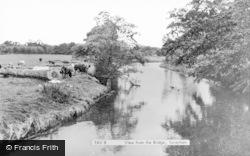 Taverham, View From The Bridge c.1960