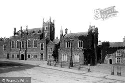 Tavistock, Abbey And Town Hall 1890