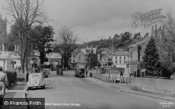 Tavistock, Bedford Square From Bridge c.1955