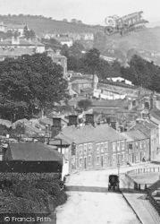 Tavistock, Callington Road c.1875