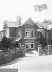 Tavistock, Cottage Hospital, Gill Wing 1903