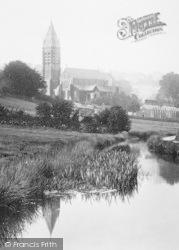 Tavistock, Fitzford Church 1893